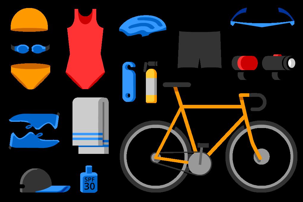 Clipart bike fell off. Triathlon training well guides