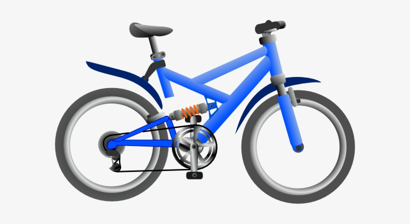 Clipping of bicycles transparent. Clipart bike hybrid bike
