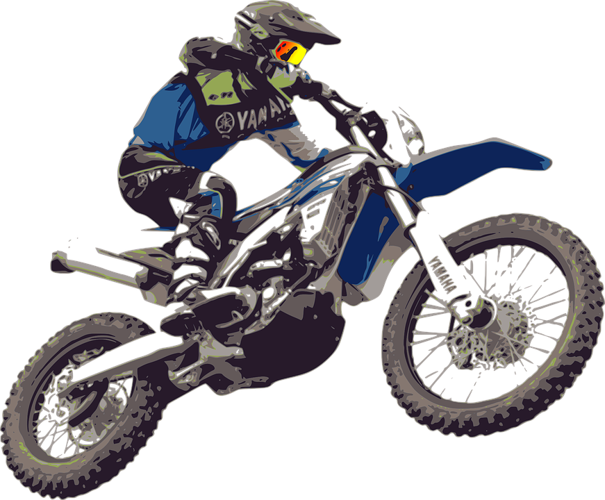 Race motocross racing