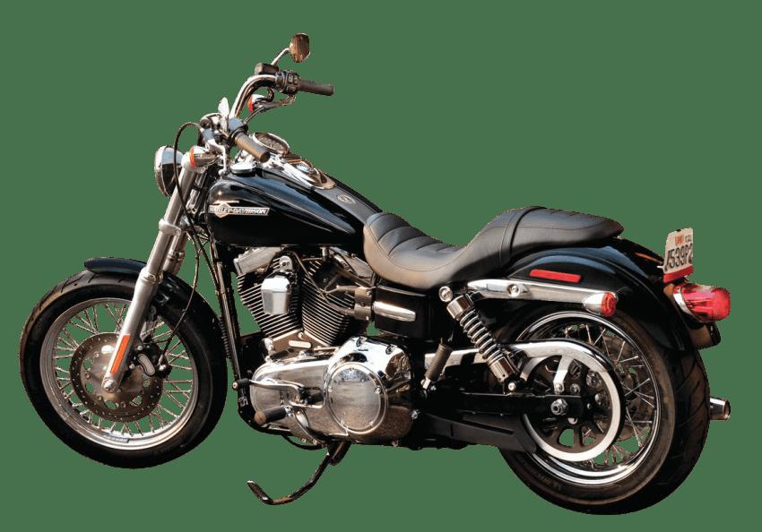 Black bike png free. Motorcycle clipart motorcycle harley davidson