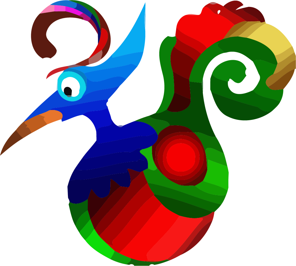 Colorful bird png clipartly. Pen clipart object