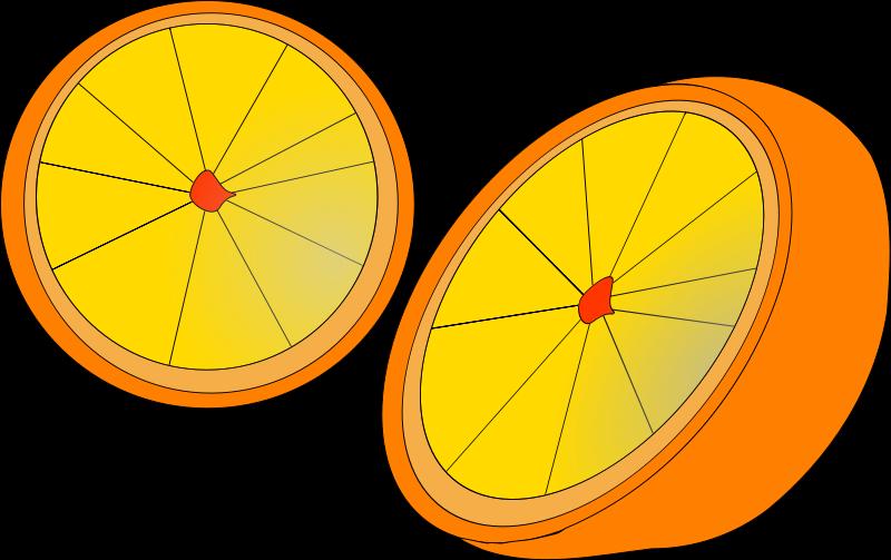 Orange clipart bike. Fruit free stock photo