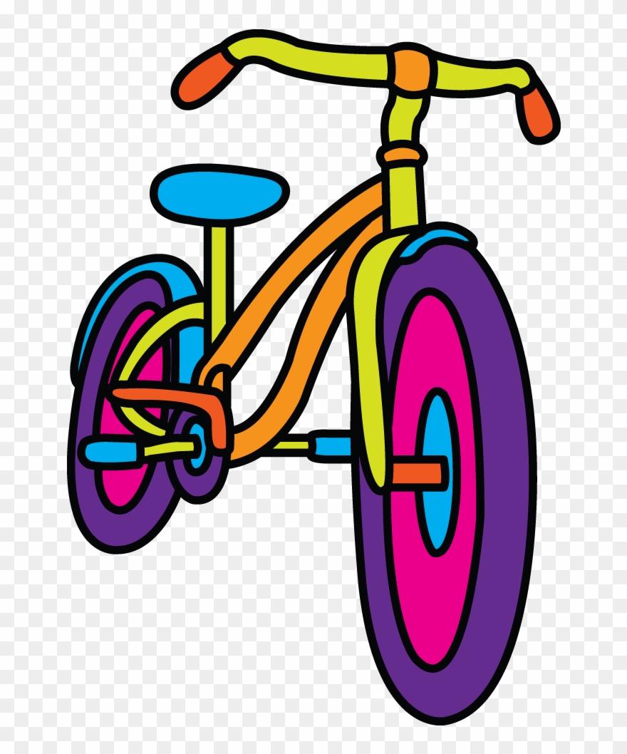 Clipart bike simple. Bicycle drawing at getdrawings