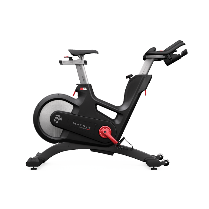 Exercising clipart stationary bicycle. Matrix ic spin bike