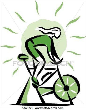 Cycle clipart spin bike. Graf k