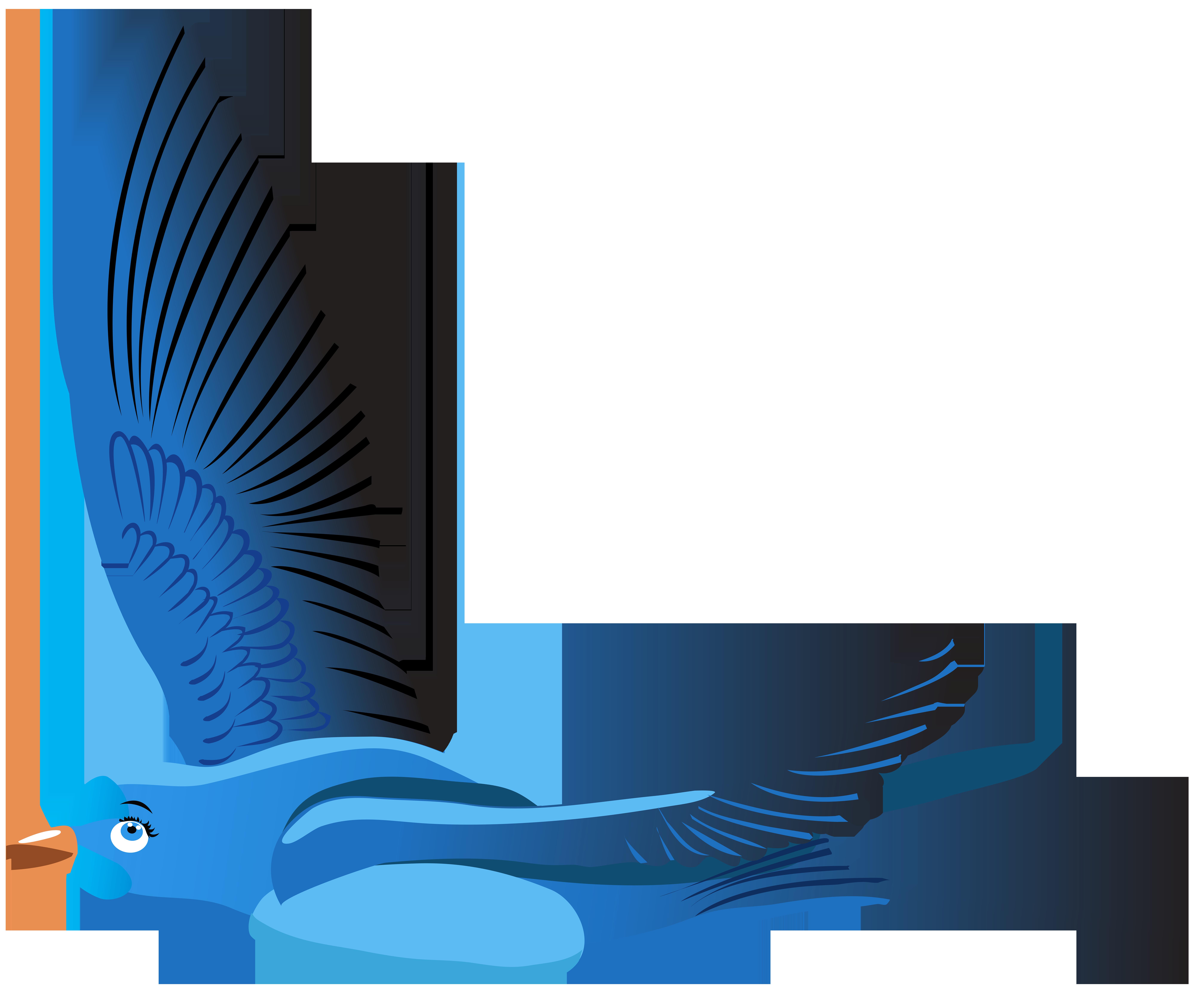 Clipart birds cartoon. Bird at getdrawings com