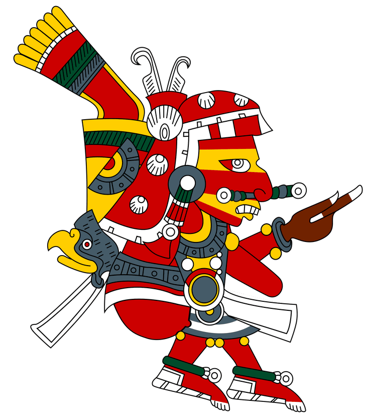 Deer clipart aztec. The most important gods
