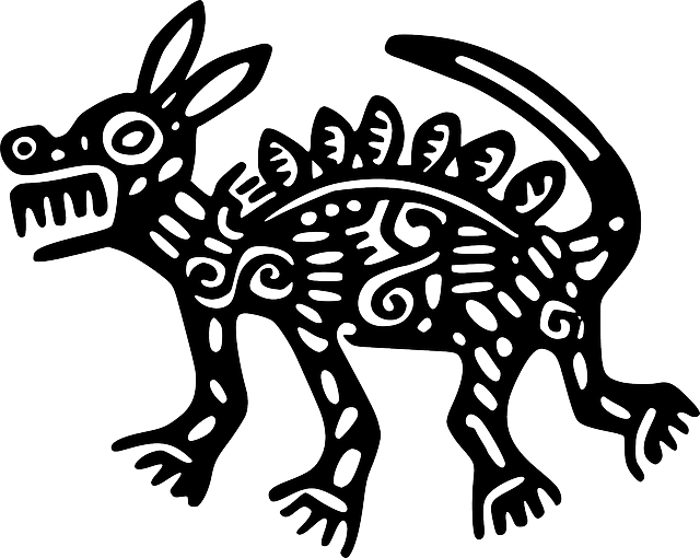 Free image on pixabay. Fox clipart aztec