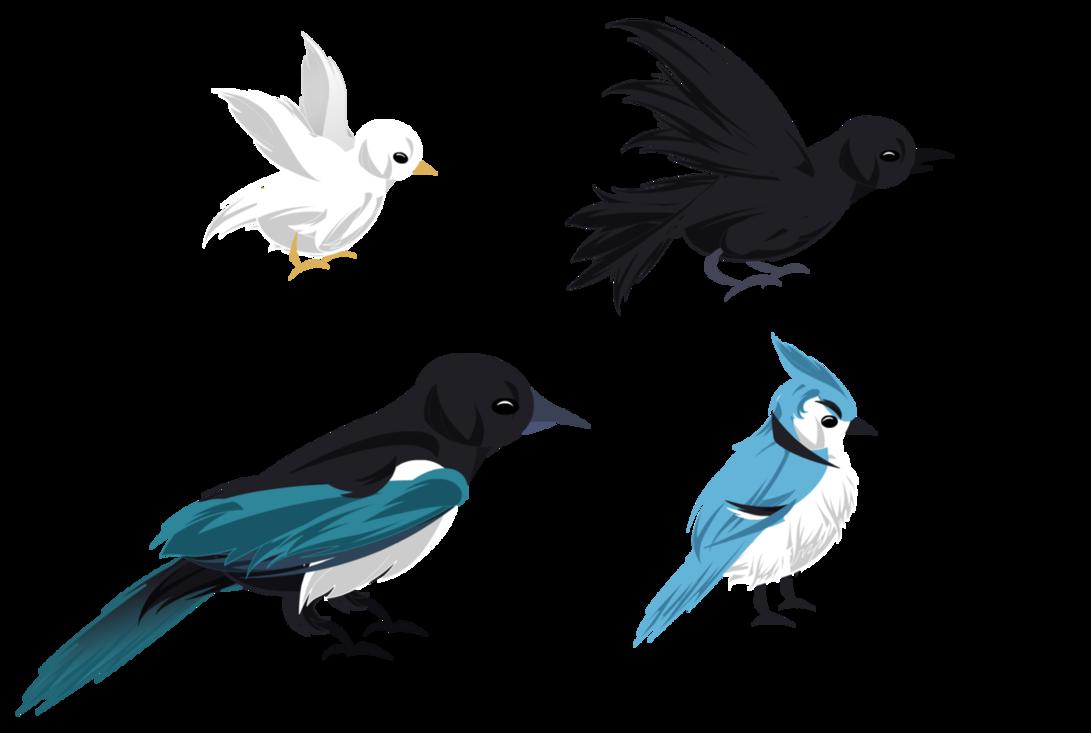 Bird exports blue black. Hummingbird clipart birb