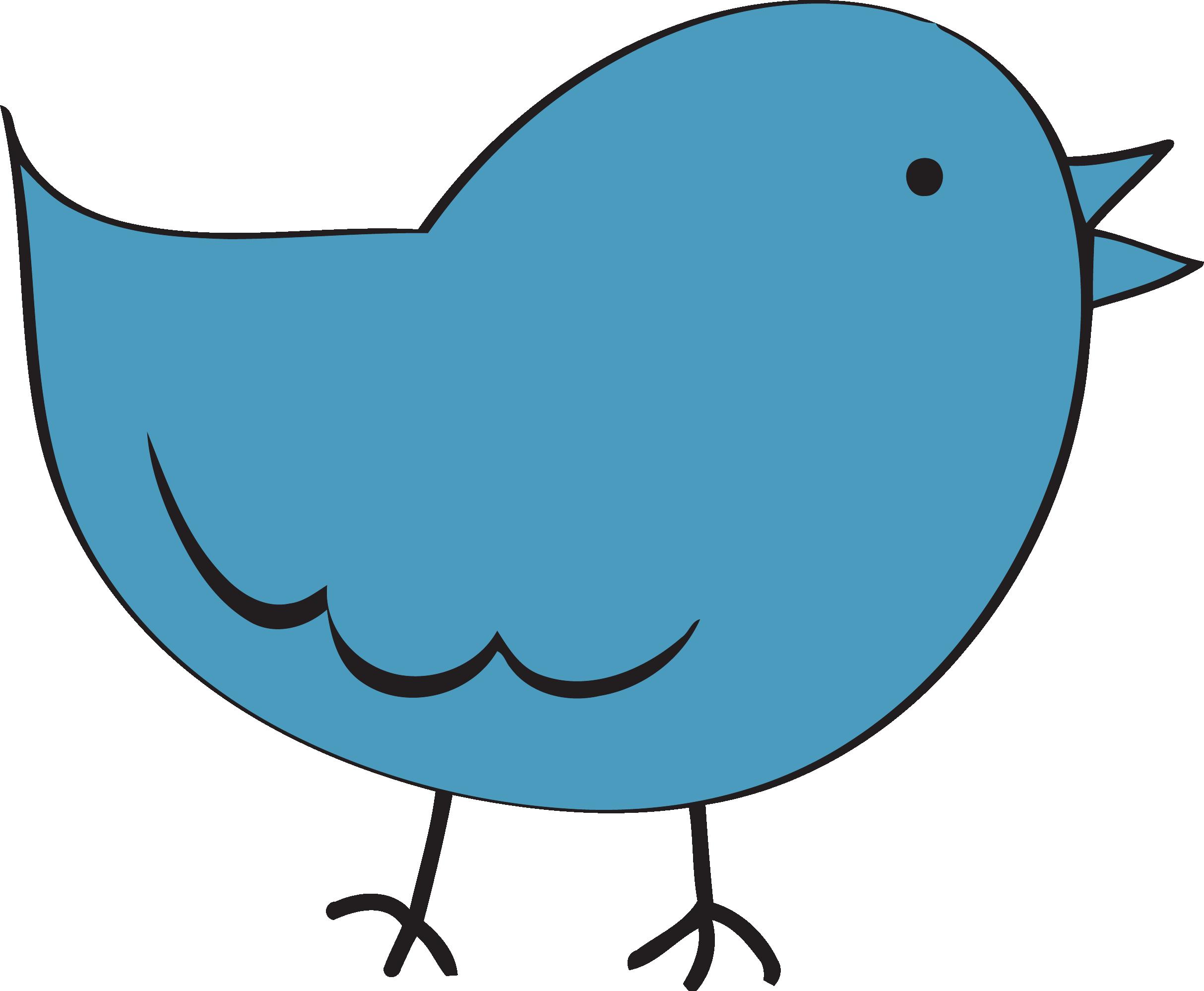 Steel blue cute bird. Pig clipart obese
