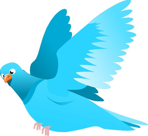 Blue bird clip art. Clipart birds vector