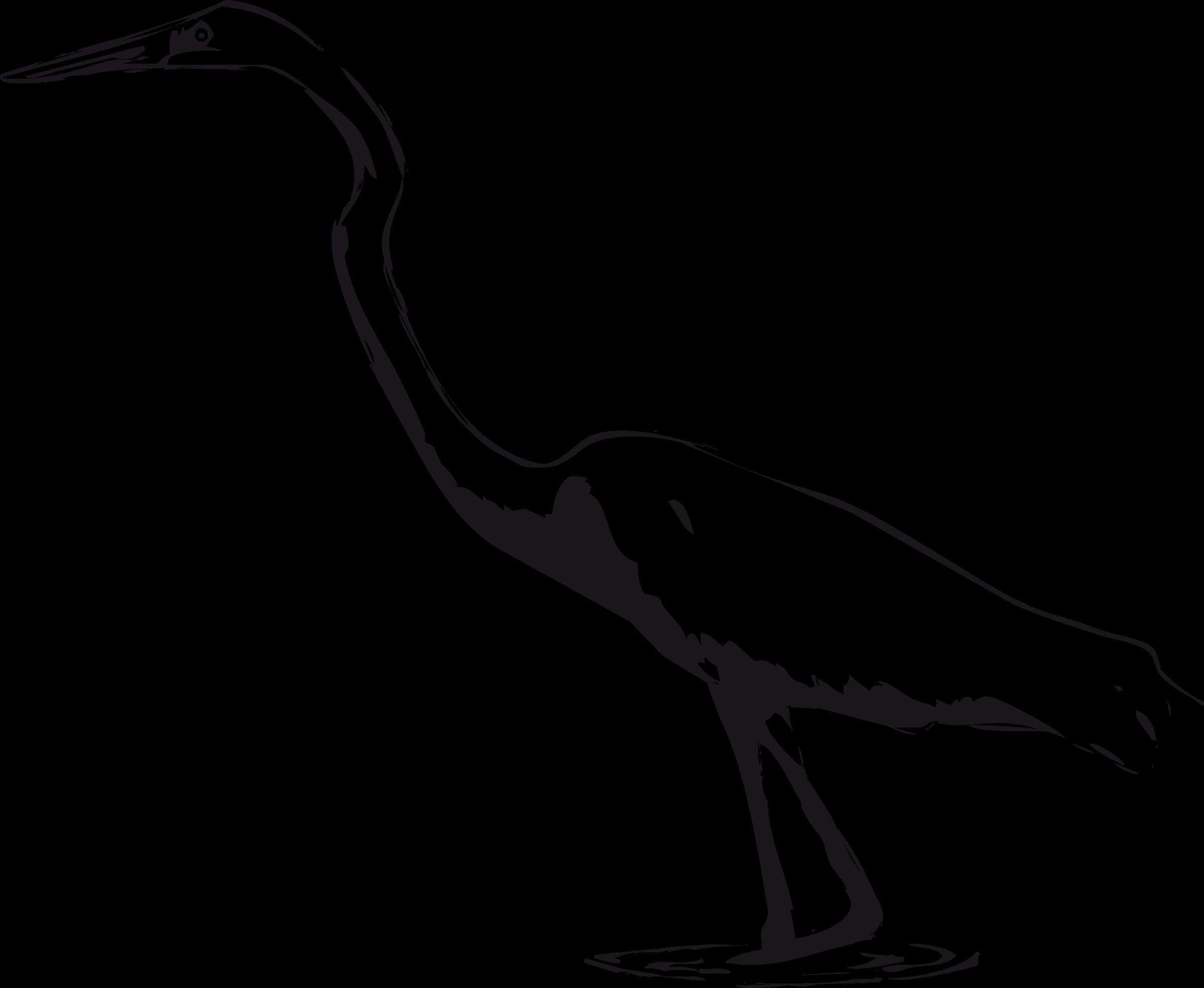 Great egret big image. Crane clipart animal