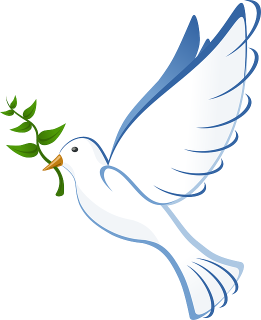 Dove clipart couple. Free image on pixabay