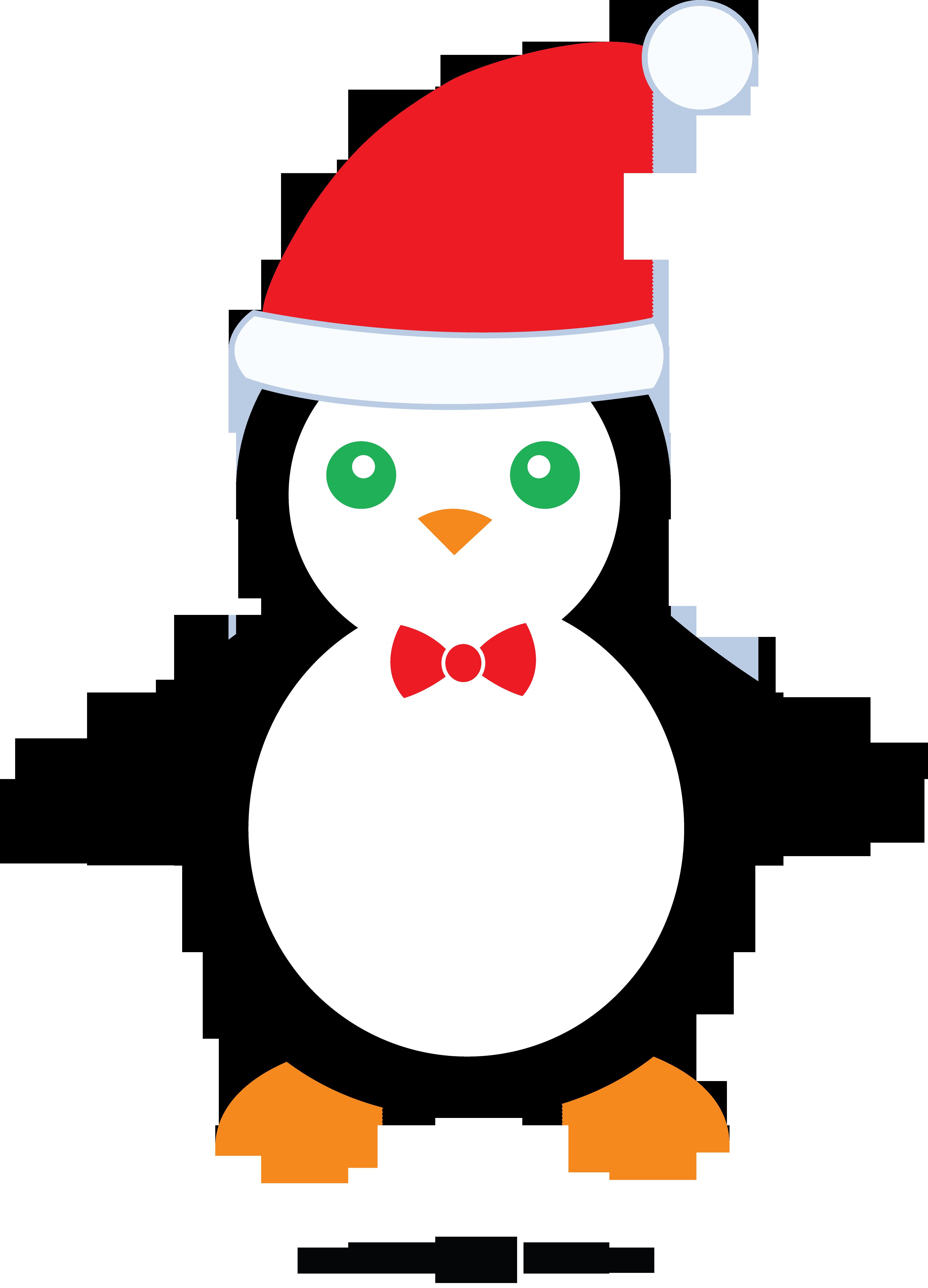 Cute christmas free clip. Frames clipart penguin