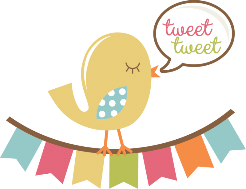 Tweet bird svg title. Design clipart scrapbook