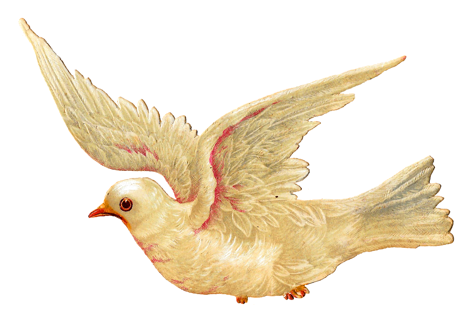Dove clipart easter. Antique images white bird