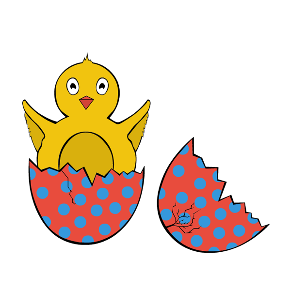 Clip art easter bird. Nest clipart hatch
