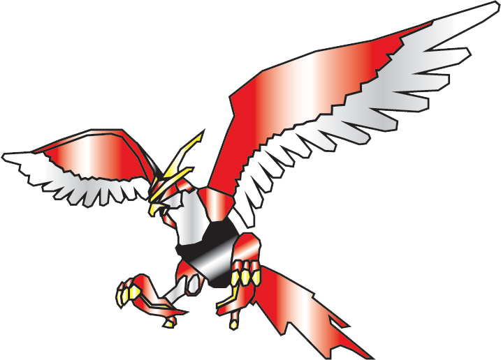 Falcon clipart claw. Red by nobird on