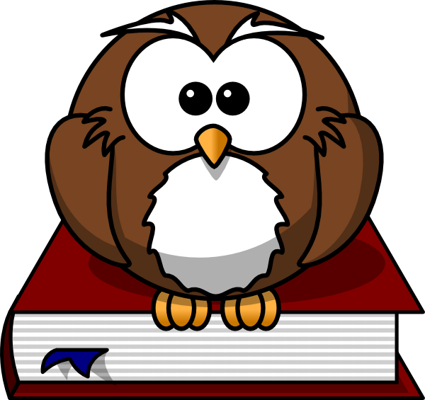 Cartoon sitting on a. December clipart owl