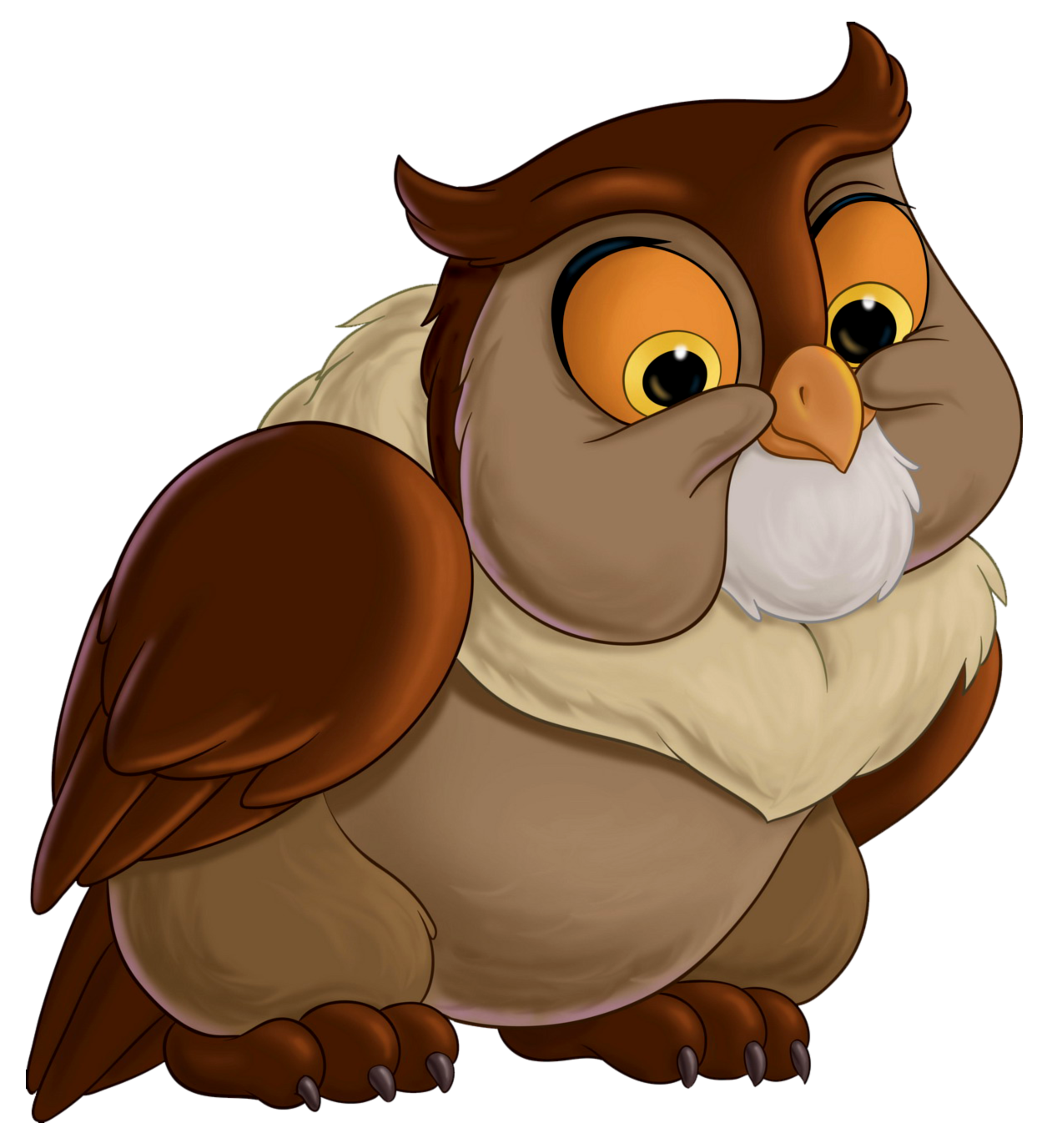 Friend clipart animated. Bambi owl transparent png
