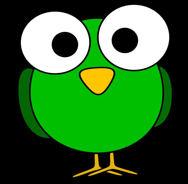 Playdough clipart green. Googly eye bird by