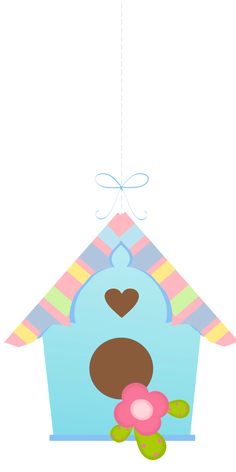 And birdhouses pretty png. Clipart birds home