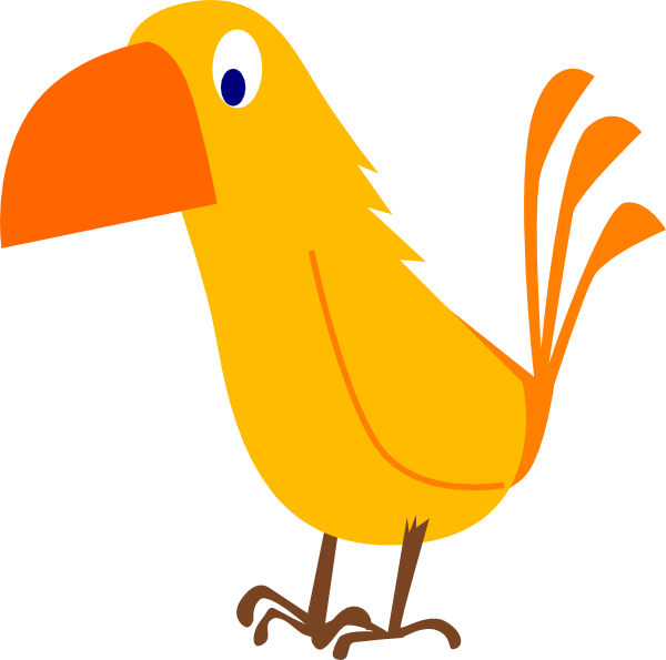 Drawing easy at getdrawings. Parrot clipart beach