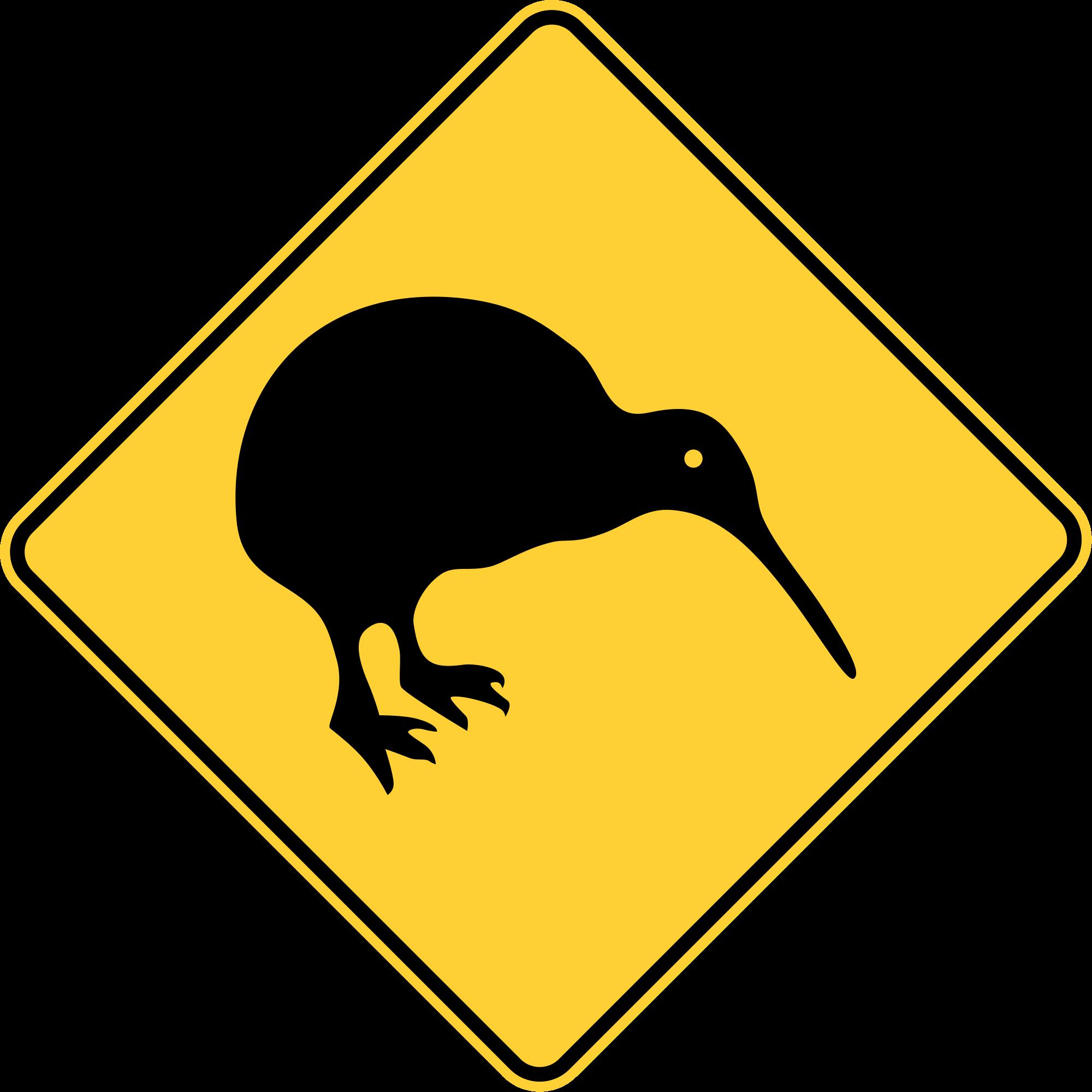 Kiwi clipart kiwi bird. File new zealand road