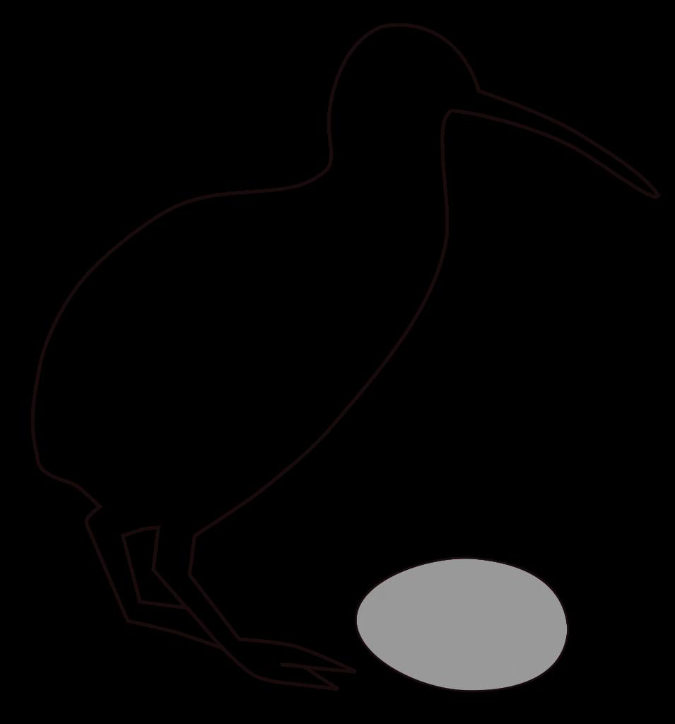 Clipart birds kiwi. File kiwieggratio svg wikipedia