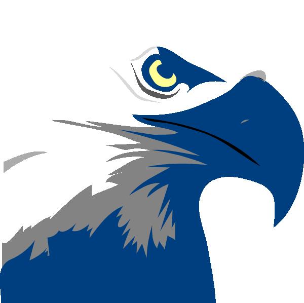 Blue logo clip art. Feet clipart eagle