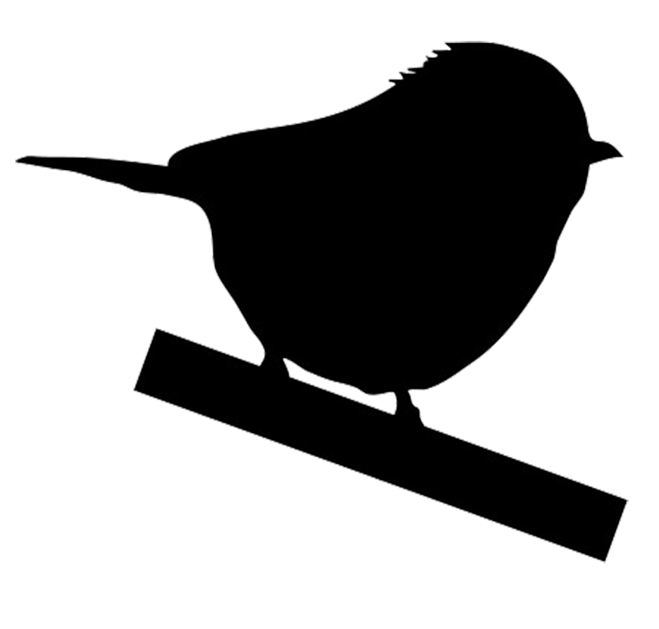 Clipart birds meadowlark. Wren silhouette at getdrawings