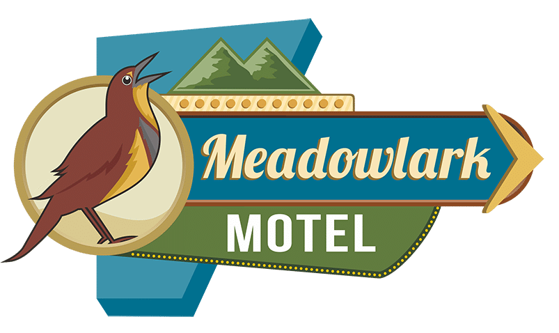 Motel in maggie valley. Clipart birds meadowlark