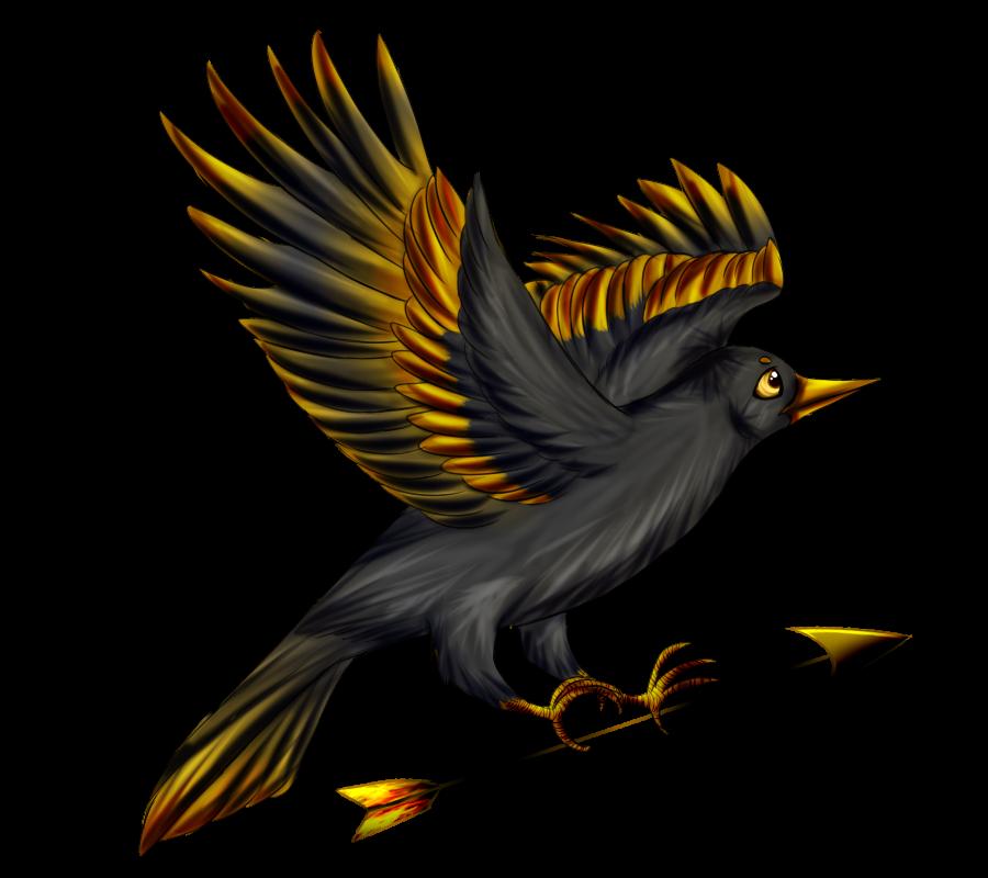 By graciegra on deviantart. Clipart bird mockingjay
