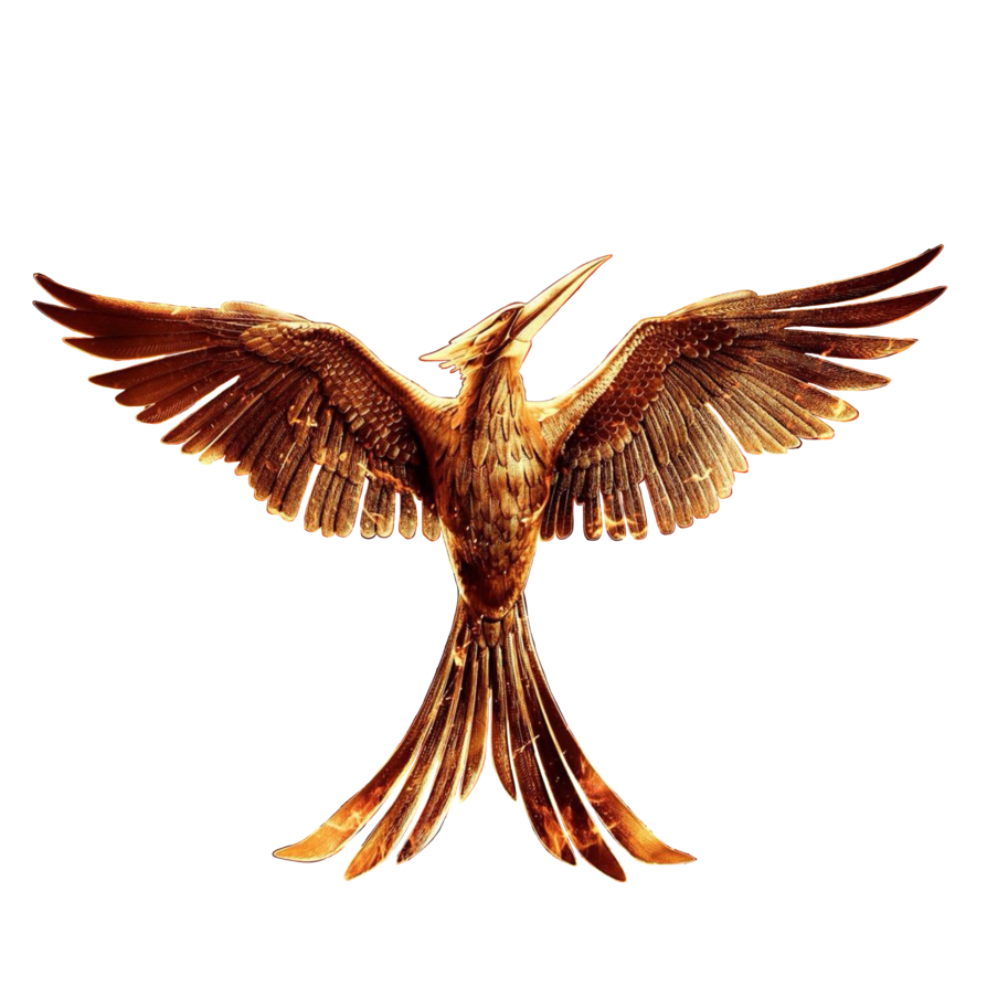 Clipart bird mockingjay. The hunger games png