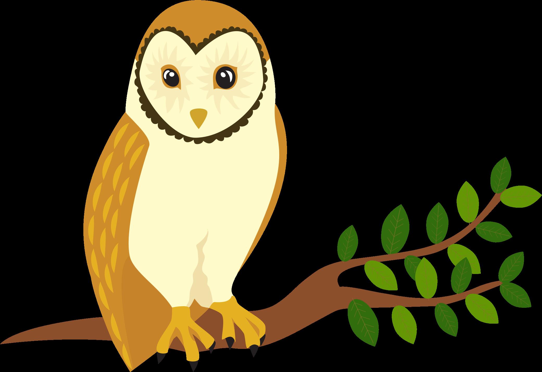 Perched big image png. Clipart bird owl