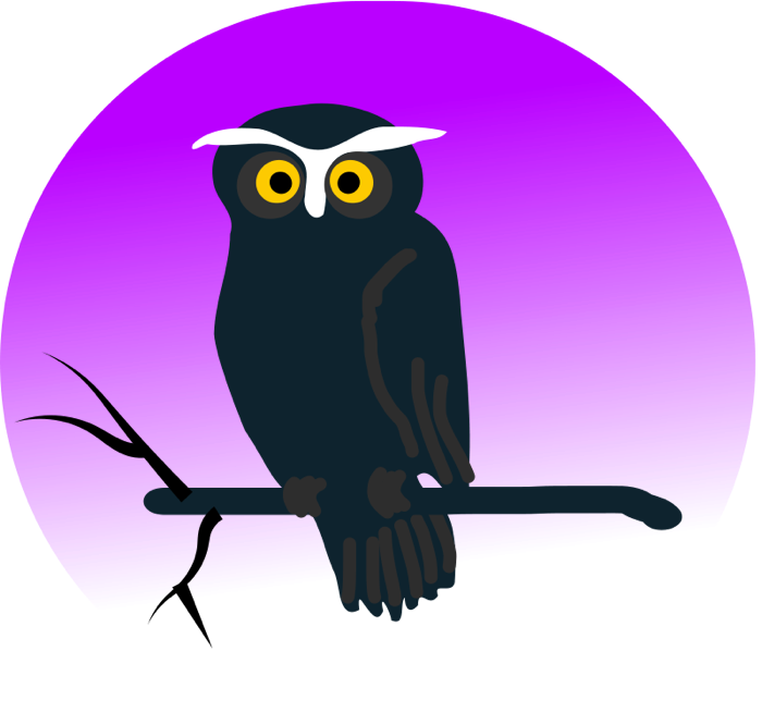 Eyes clipart owl. Animated images vector graphics