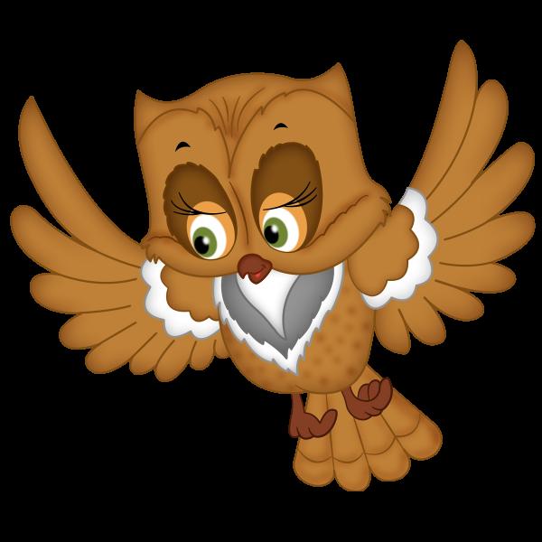 Clipart bird prey. Of cartoon owls images