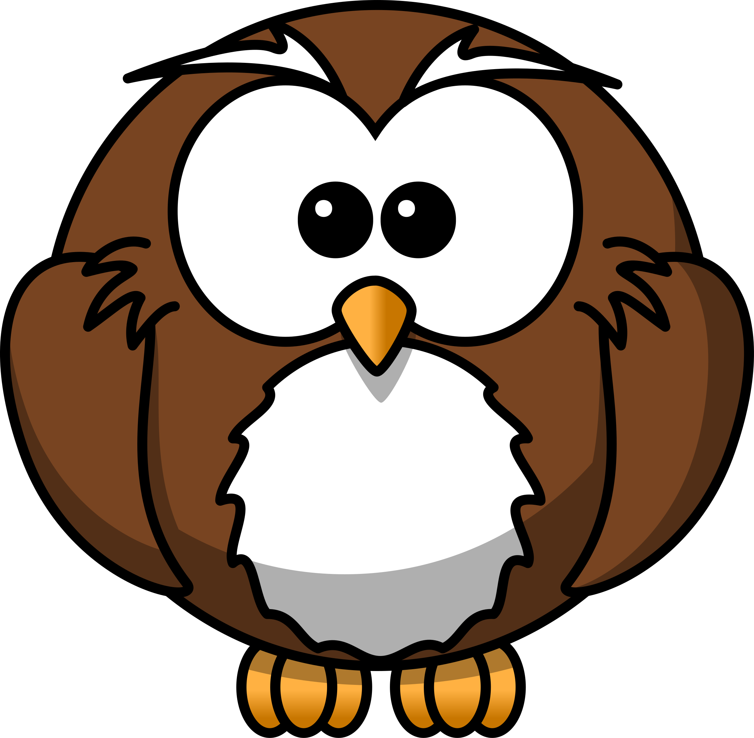 Owl big image png. Professional clipart cartoon