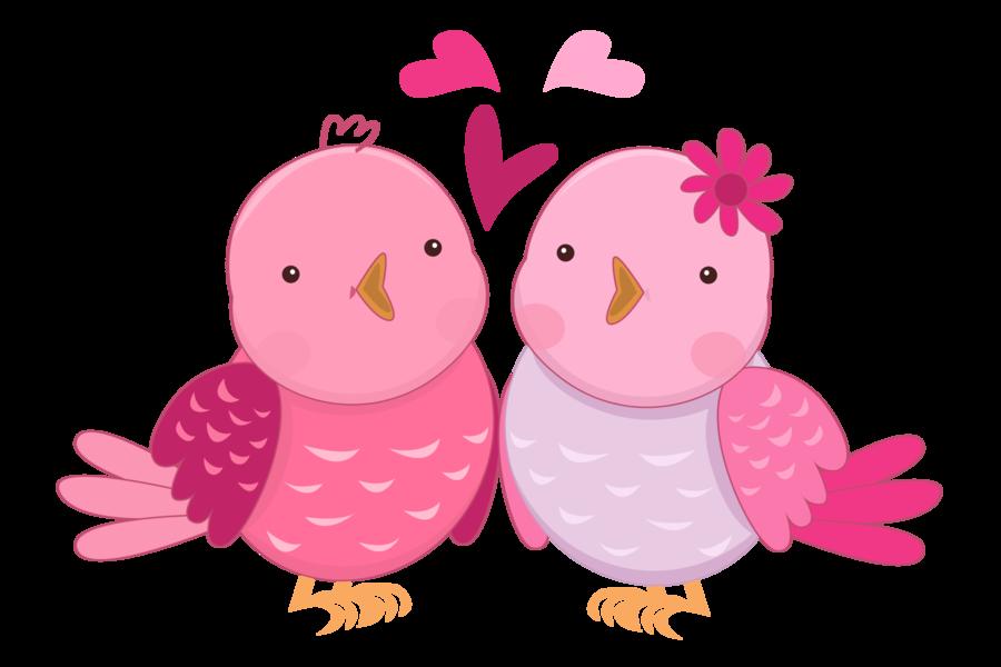 Clipart love stamp. Pink in birds pinterest
