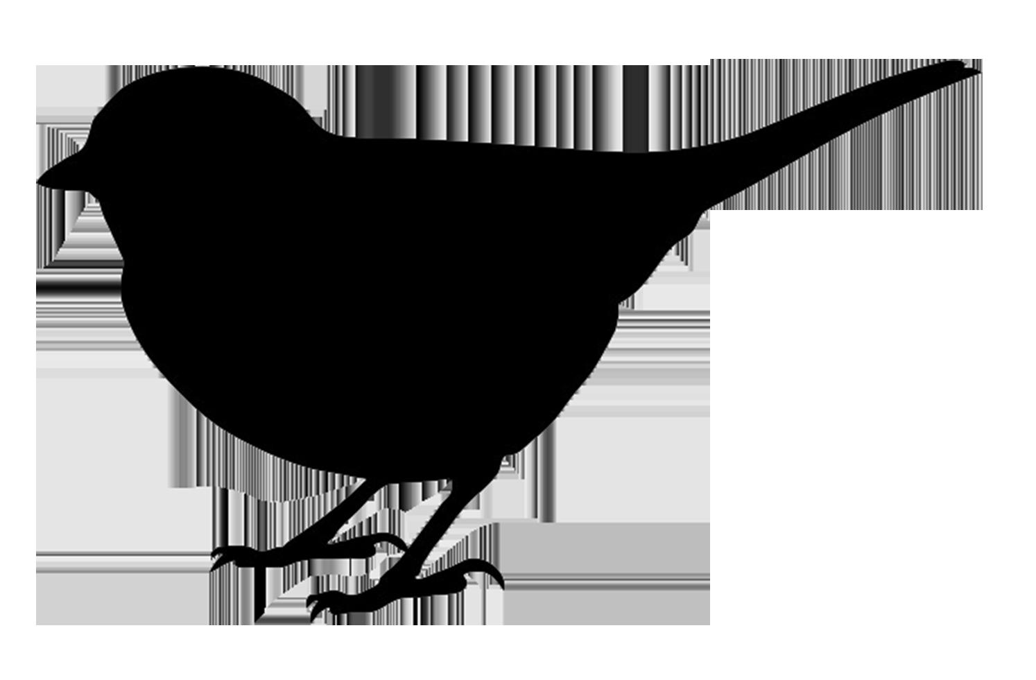Bird silhouette printable at. Clipart park birds