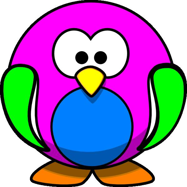 Clipart rainbow bird. Penguin clip art at