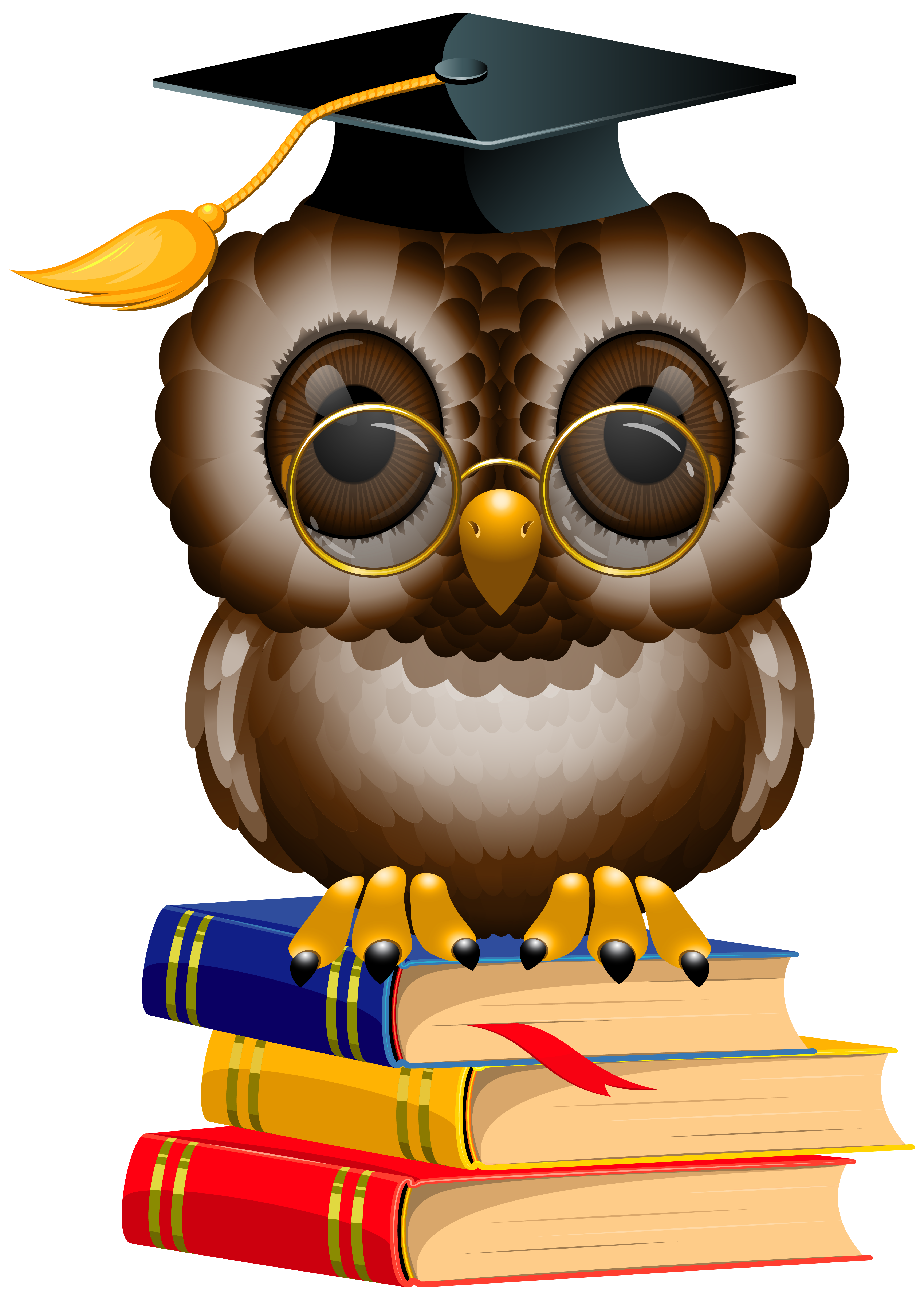 Parking lot clipart vacant lot. Owl with school books