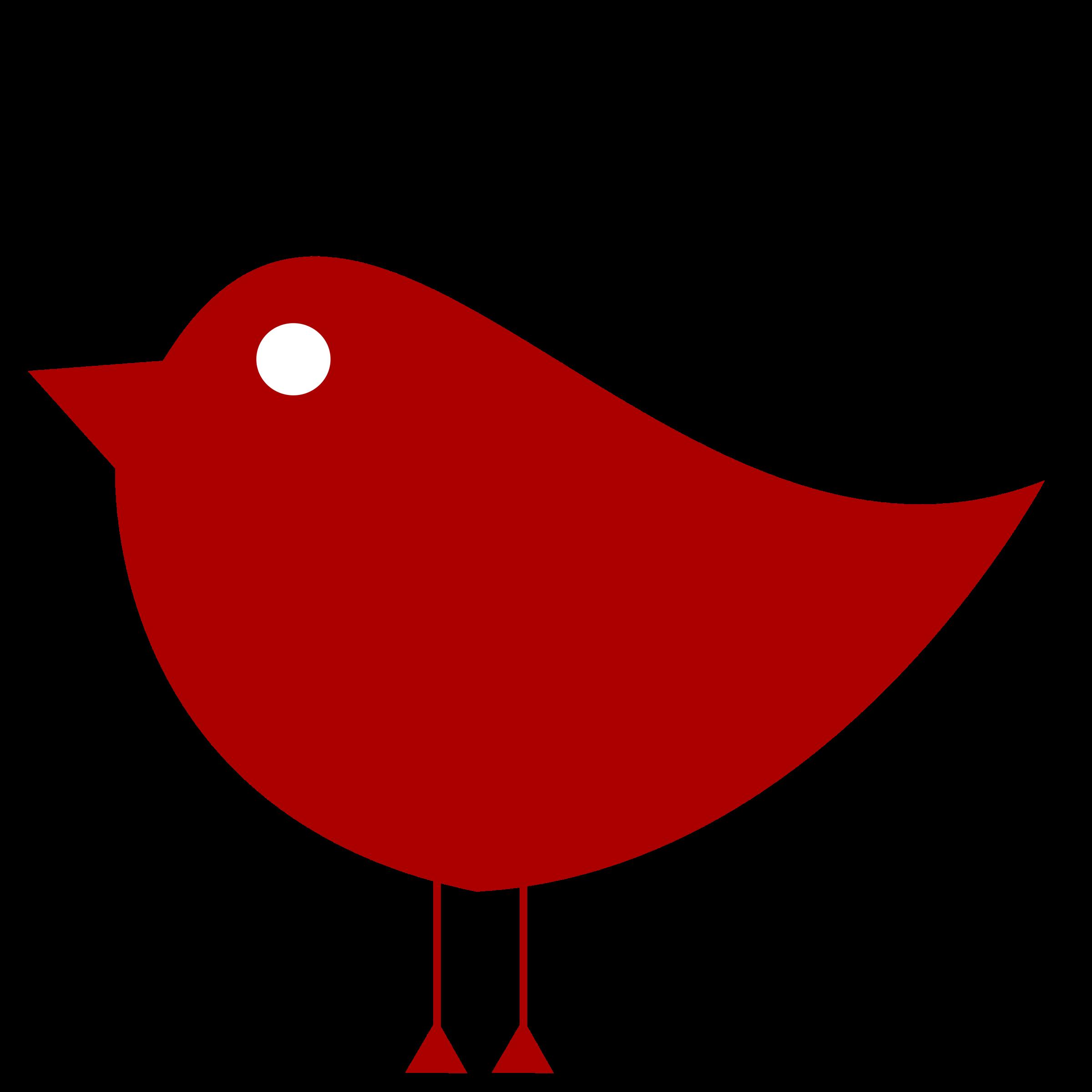 Number 1 clipart color. Simple birdie bird one