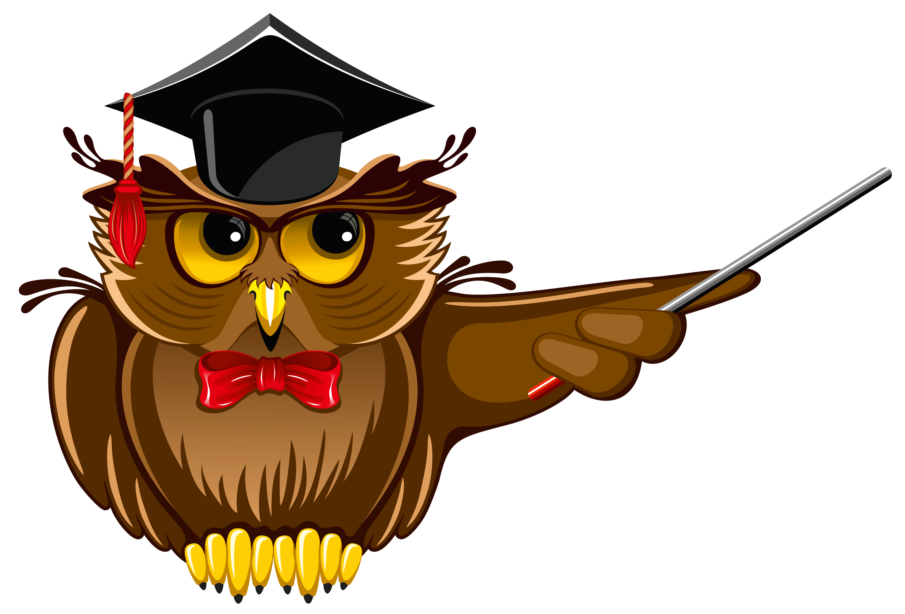Images for school owl. Clipart bird teacher