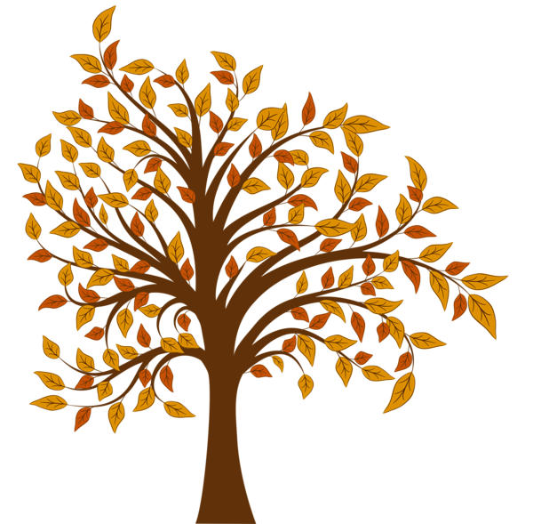 Fall tree png image. Trail clipart vivid