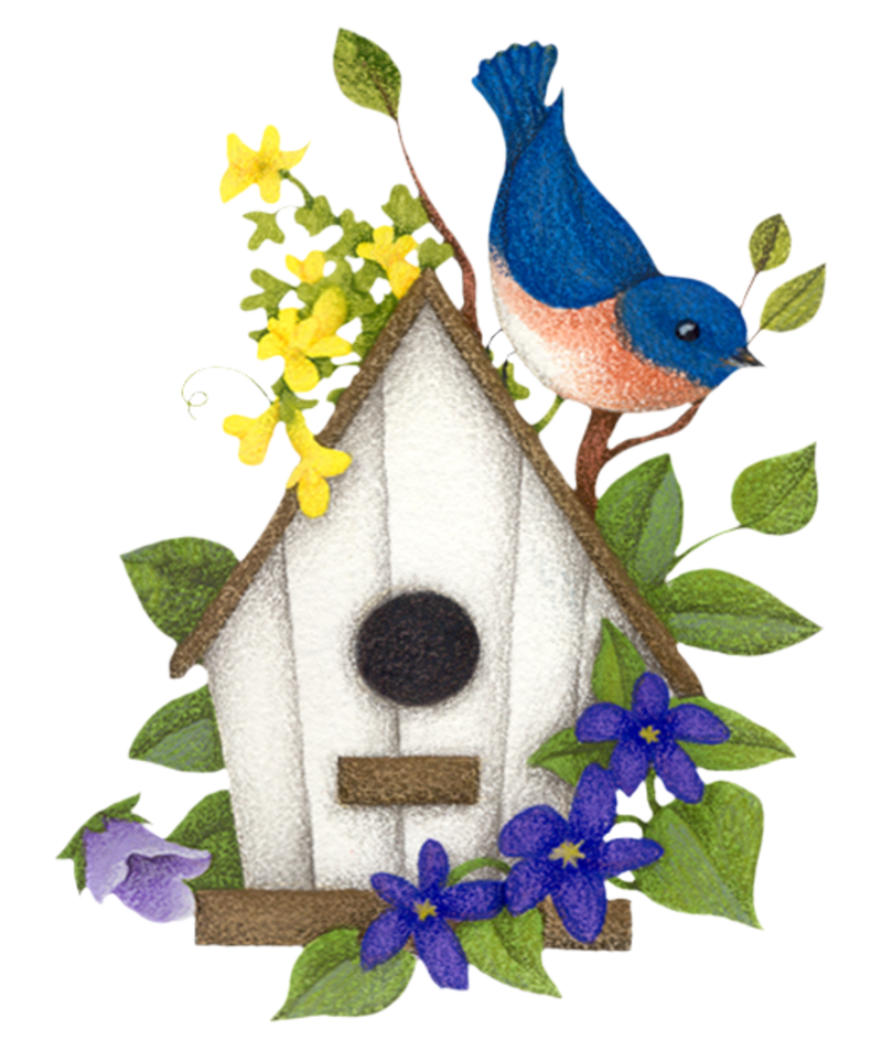 Country clipart birdhouse.  ff b png