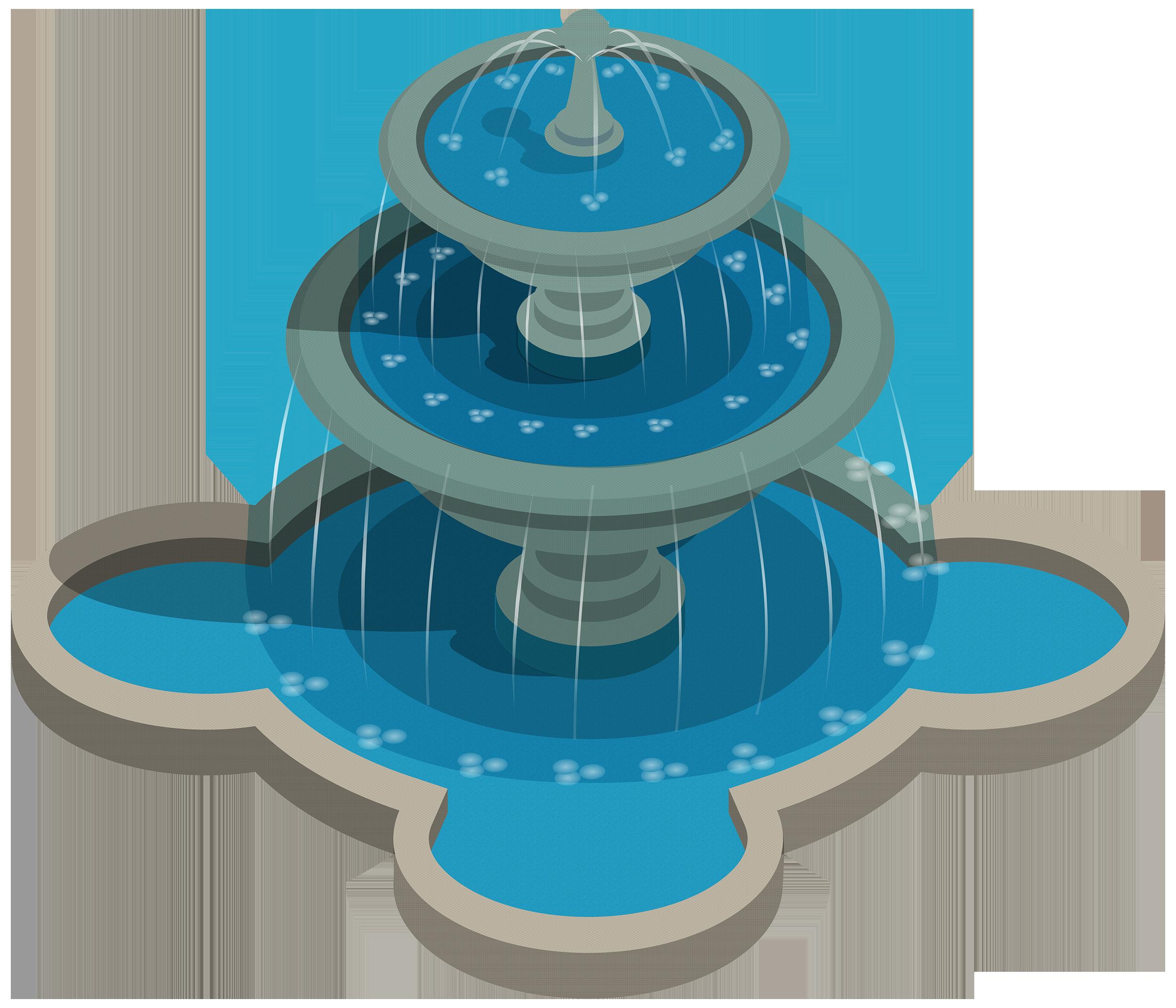 Water clipart aqua. Fountain png best web