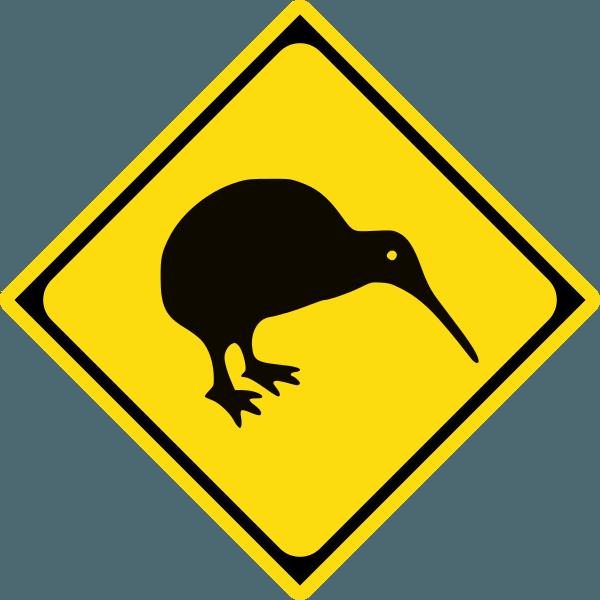 Bay pair scoop k. Clipart birds kiwi