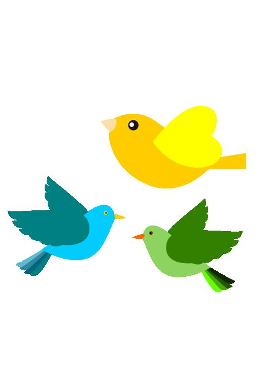 Free bird art download. Clipart birds vector