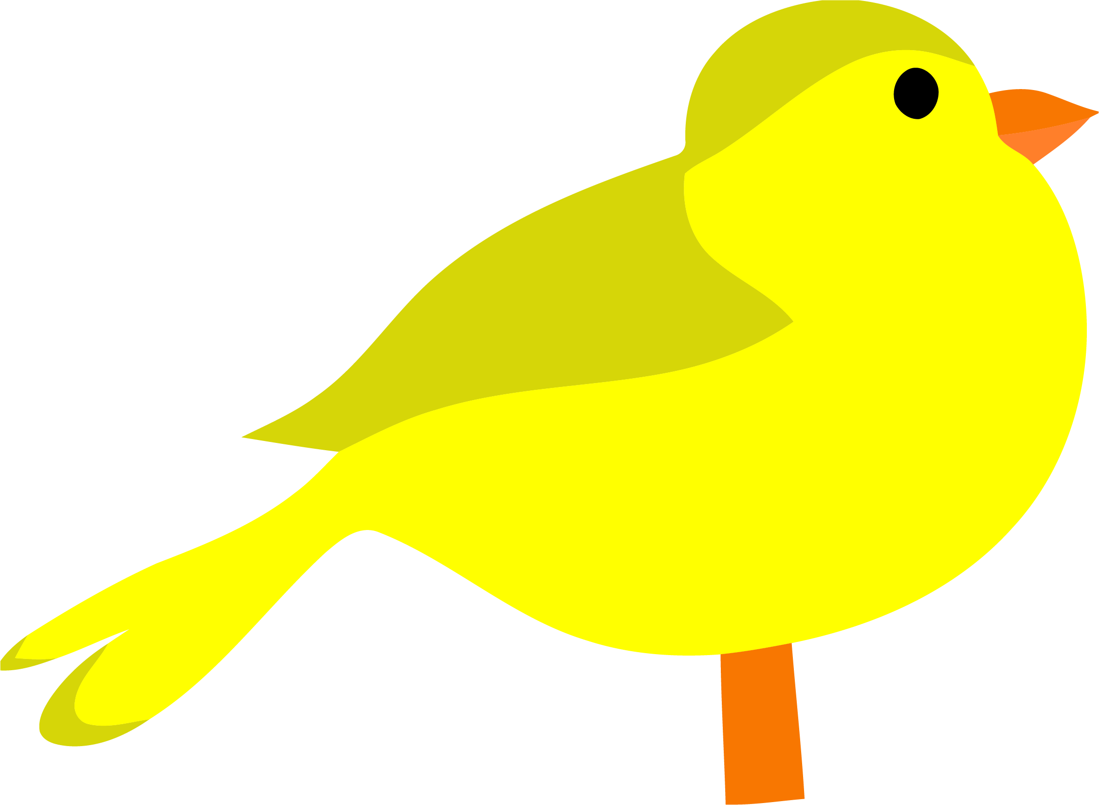 Clipart birds yellow. Bird png clipartly comclipartly